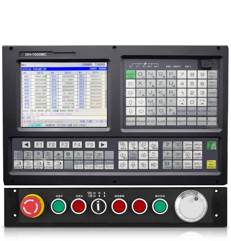 GH1000MC 3-5 AXIS CNC milling controller with ATC+PLC