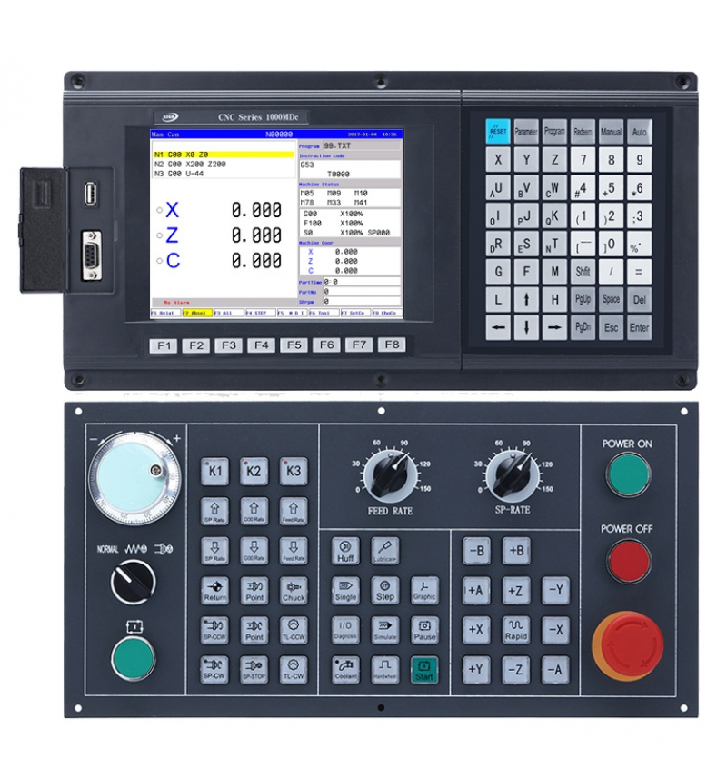 CNC1000MDc-3 3 Axis Milling/Drilling/Engraving CNC Controller