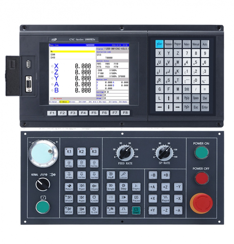 CNC1000MDc-5 5 Axis Milling/Drilling/Boring/Engraving CNC Controller