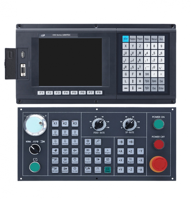 CNC1000TDc-4 4 Axis CNC Controller for Lathe & Turning Center